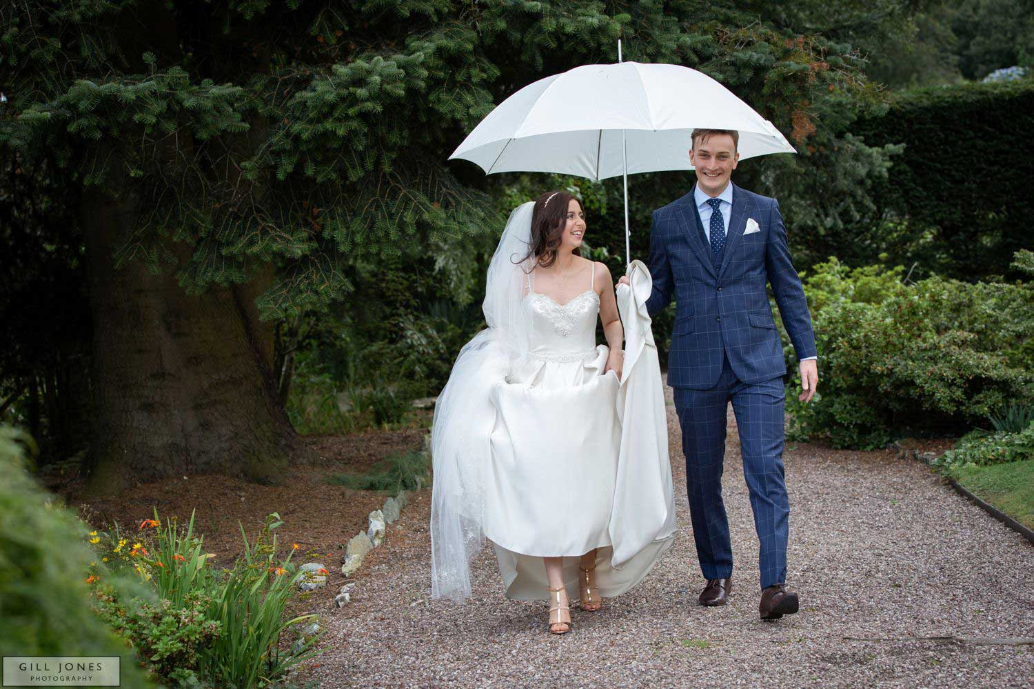 An intimate Chateau Rhianfa Wedding