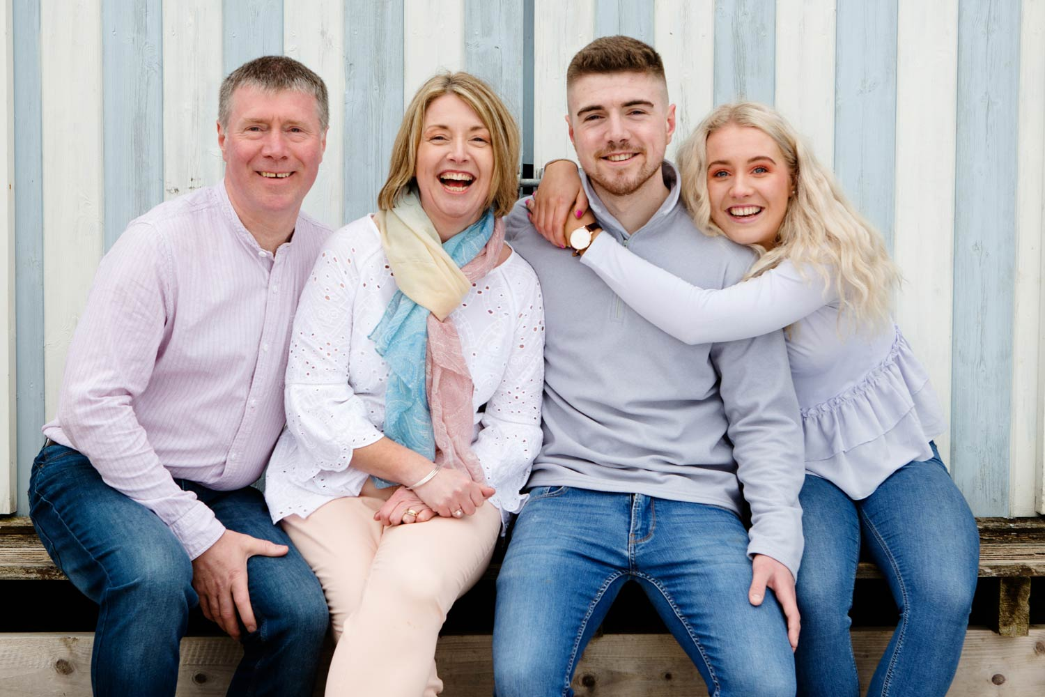 Abersoch family portrait photographer