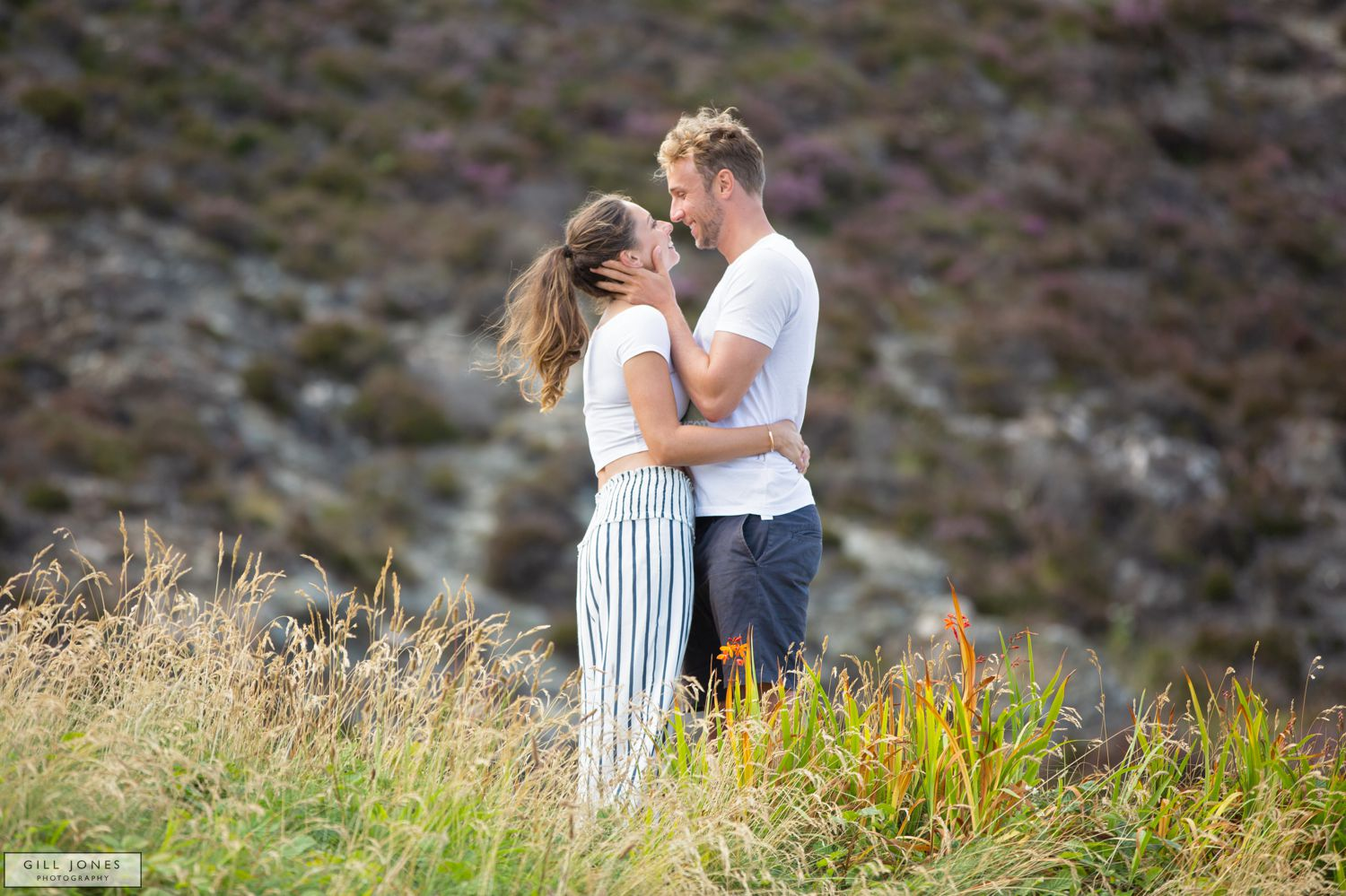 A pre-wed shoot in Cornwall