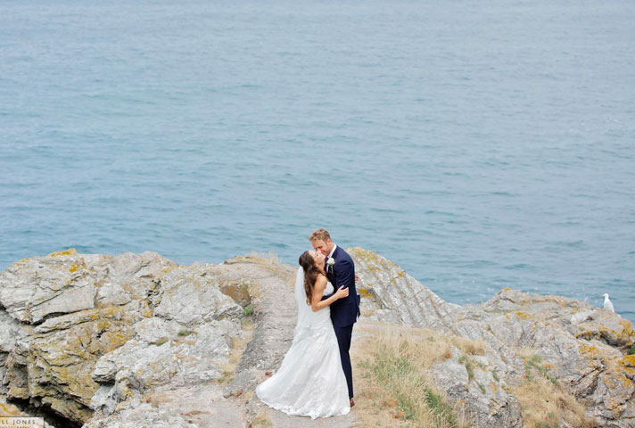 Anglesey wedding photographer on tour