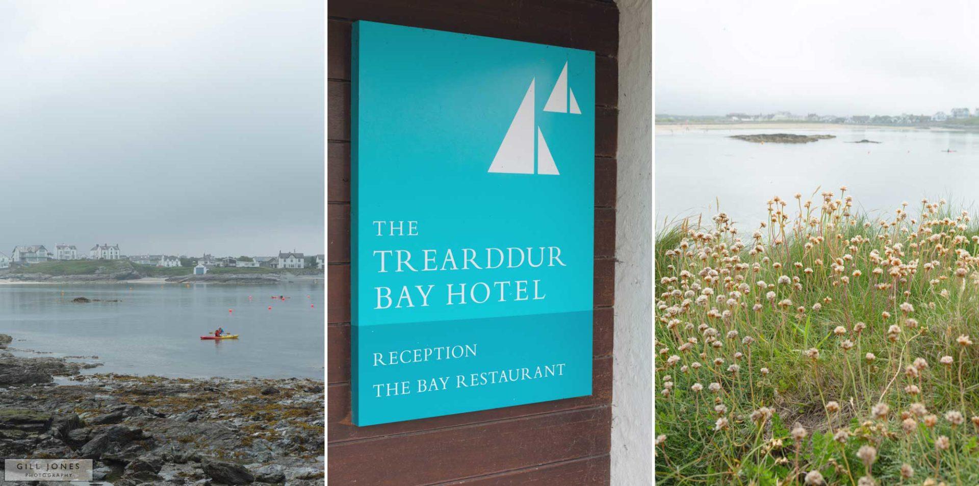 landscape images of trearddur bay