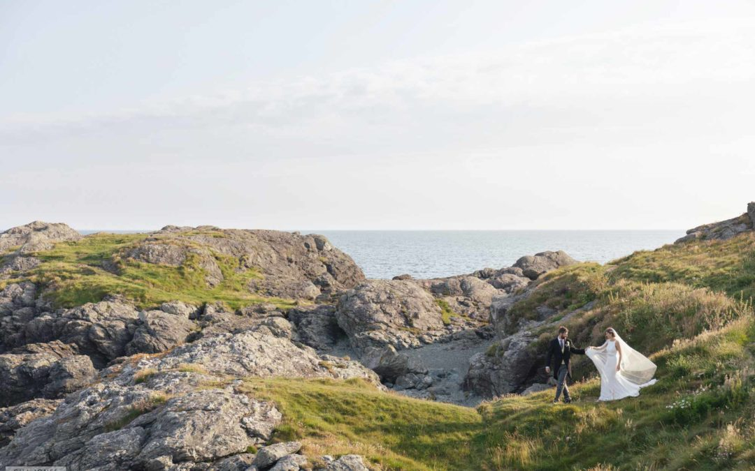 A wedding at the Trearddur Bay Hotel