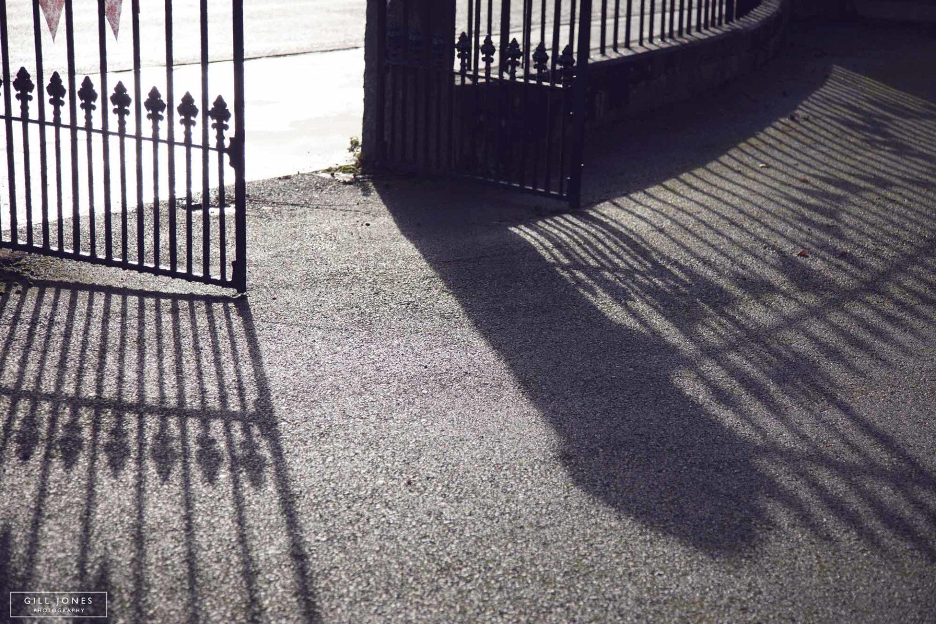 shadows of Chapel gates