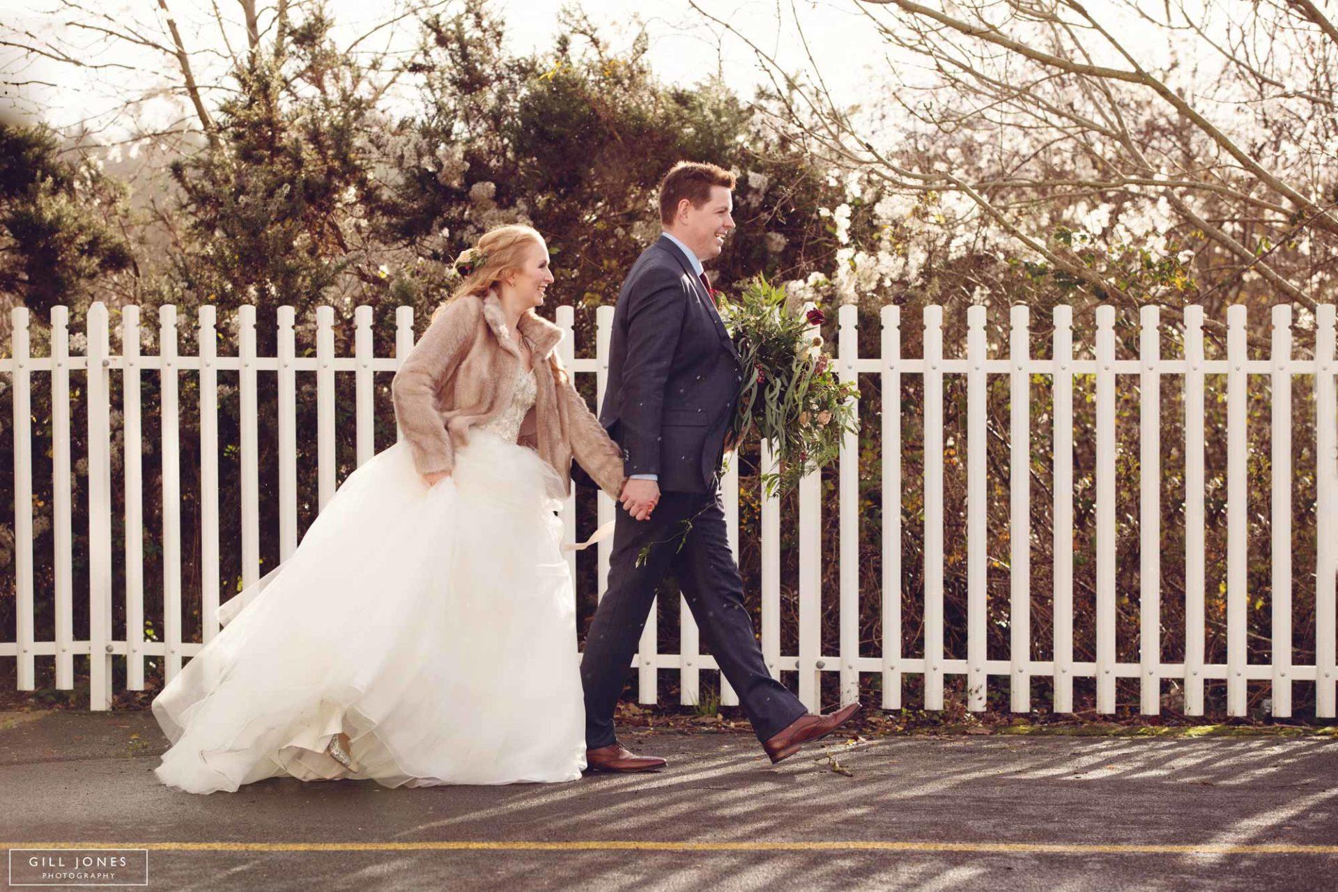 A winter Quay Hotel wedding