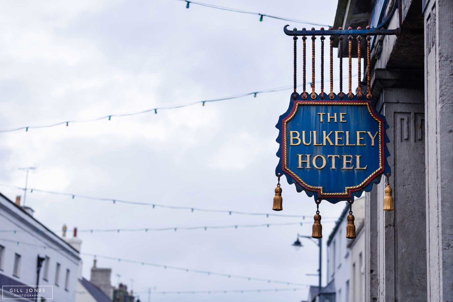 The Bulkeley Hotel's sign